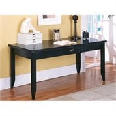 Kathy Ireland Home by Martin Tribeca Loft Black Writing Table