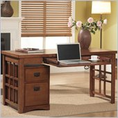 Kathy Ireland Home by Martin Mission Pasadena Laptop Writing Desk