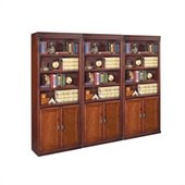 Kathy Ireland Home by Martin Furniture Huntington Club Wall Bookcase