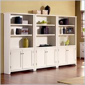 Kathy Ireland Home by Martin Furniture Tribeca Wall Bookcase