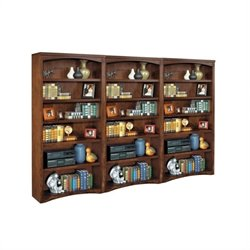 Kathy Ireland Home by Martin Mission Pasadena Wall Bookcase