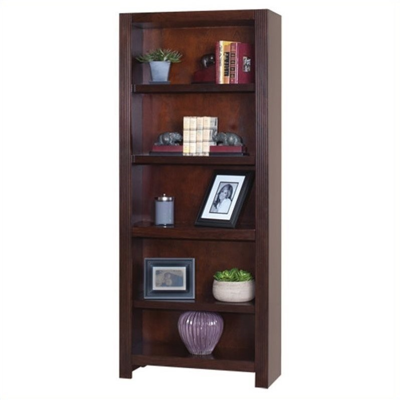 kathy ireland home by martin carlton flex office 72 open bookcase in