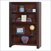 Kathy Ireland Home by Martin Furniture Carlton Flex Office 53 Open Bookcase in Bourbon