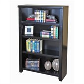 Kathy Ireland Home by Martin Furniture Tribeca Loft Office 48 Bookcase in Midnight Smoke