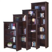 Kathy Ireland Home by Martin Furniture Tribeca Bookcase in Cherry