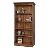 Kathy Ireland by Martin Portland Loft Office Bookcase in Clove