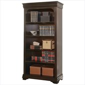 Martin Furniture Beaumont Office Open Bookcase in Deep Java