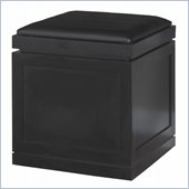 Kathy Ireland Home by Martin Office Rolling Storage Cube in Onyx