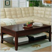 Martin Furniture Martin Grove Lift & Slide Top Coffee Table in Terra