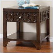 Martin Furniture Ellipse End Table in Graphite