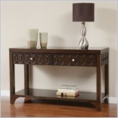 Martin Furniture Ellipse Sofa Table in Graphite