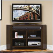 Kathy Ireland by Martin Carlton TV Stand Corner Unit in Bourbon
