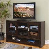 Kathy Ireland by Martin Carlton 36 Tall TV Stand in Bourbon