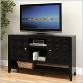 Kathy Ireland by Martin Crescent  36 Tall TV Stand in Black