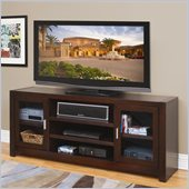 Kathy Ireland by Martin Furniture Carlton TV Stand in Bourbon