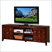 Kathy Ireland by Martin Crescent TV Stand in Cognac