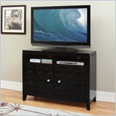Kathy Ireland by Martin Crescent TV Stand Black