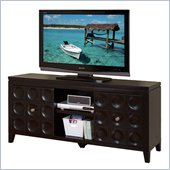 Kathy Ireland by Martin Crescent TV Stand in Black