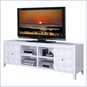 Kathy Ireland by Martin Crescent TV Stand in White