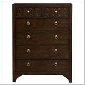 Martin Furniture Ellipse 6 Drawer Chest in Graphite Finish