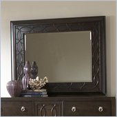 Martin Furniture Ellipse Mirror in Graphite Finish