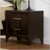 Martin Furniture Brookside Nightstand in Mocha Finish