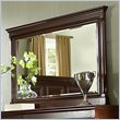 ADD TO YOUR SET: Martin Furniture Mount View Mirror in Cherry Cobblestone Finish