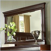 Martin Furniture Mount View Mirror in Cherry Cobblestone Finish