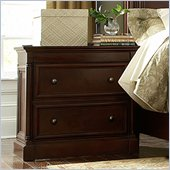 Martin Furniture Mount View Nightstand in Cherry Cobblestone Finish