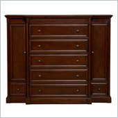 Martin Furniture Mount View Master Chest in Cherry Cobblestone Finish