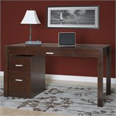 Martin Furniture Carlton Laptop / Writing Desk in Bourbon Finish