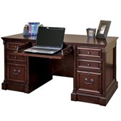 Kathy Ireland by Martin Mount View Efficiency Double Pedestal Desk