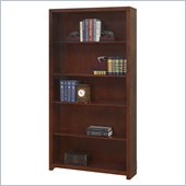 Martin Furniture Spring Hill 70 Open Bookcase in Mission Finish