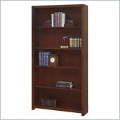 "Martin Furniture Spring Hill 70"" Open Bookcase in Mission Finish"