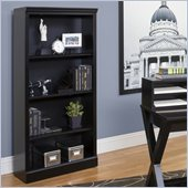 Kathy Ireland by Martin Worx Open Bookcase in Black