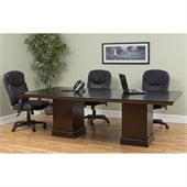Kathy Ireland Home by Martin Fulton 96 Conference Table in Espresso