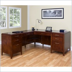 Kathy Ireland Home by Martin Concord LHF L-Shaped Desk