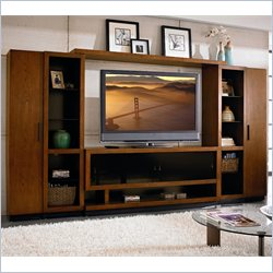 Martin Furniture Gravity 134 Wall Entertainment Center in Caramel