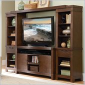 Kathy Ireland Home by Martin Marbella 104 Entertainment Wall in Russet