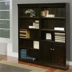 Kathy Ireland Home by Martin Fulton 2 Piece Wall Bookcase Set