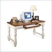 Kathy Ireland Home by Martin Furniture Southampton Wood Writing Desk in Oyster White