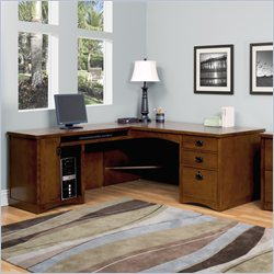 Kathy Ireland Home by Martin California Bungalow LHF L-Shaped Desk