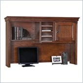 Kathy Ireland Home by Martin Furniture Huntington Oxford Organizer Desk Hutch in Burnish