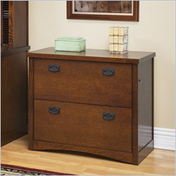 Kathy Ireland Home by Martin California Bungalow 2-Drawer Lateral File in Mission