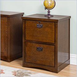 Kathy Ireland Home by Martin California Bungalow 2-Drawer File in Mission