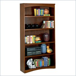 Kathy Ireland Home by Martin California Bungalow 5 Shelf Open Bookcase
