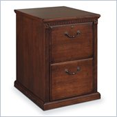 Kathy Ireland Home by Martin Furniture Huntington Oxford 2 Drawer Vertical Wood File Storage Cabinet in Distressed Burnish