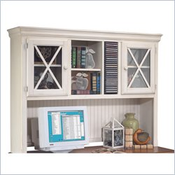 Discount Price   Kathy Ireland Home By Martin Furniture Southampton Storage  Hutch With CD Rack And 2 Glass Door Cabinets In Oyster