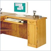 Kathy Ireland Home by Martin Furniture Waterfall Desk for Left Hand Facing Return
