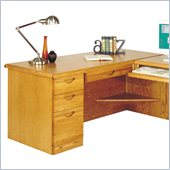 Kathy Ireland Home by Martin Furniture Waterfall Desk for Right Hand Facing Return
